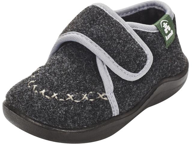 Kamik Cozylodge Schuhe Kinder black/charcoal-noir/charbon